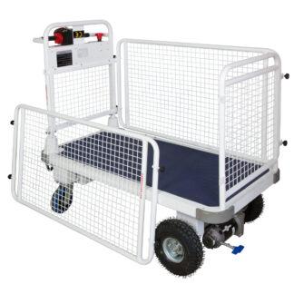 Carrello Transporter Elettrico contenitore elettrico grande portata