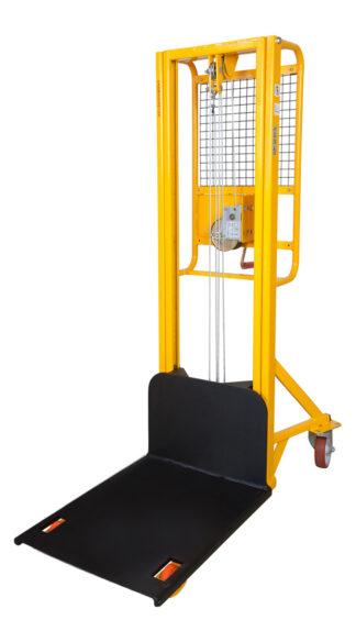 Sollevatore 200 Kg. ad arganello sollevamento 2